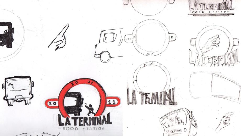 La Terminal Logo Process