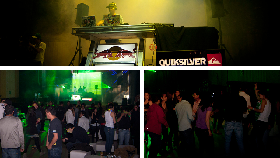 The Quiksilver Neon Party