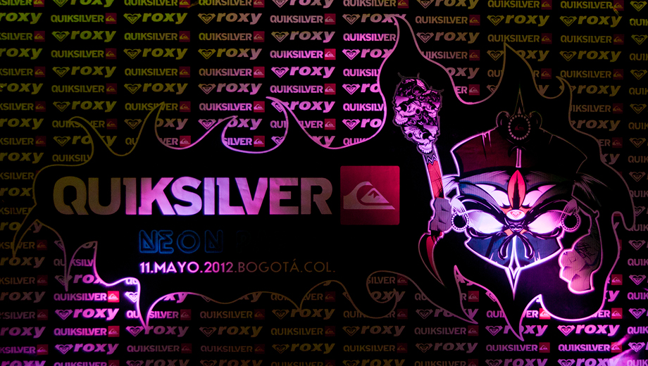 Quiksilver Neon Party